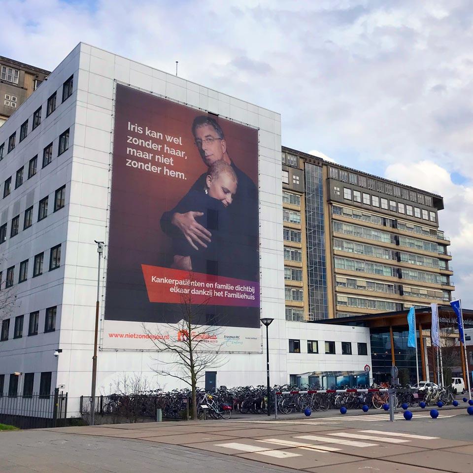 """Fonds wervende campagnefilm """"Niet zonder jou"""" voor Familiehuis Daniel den Hoed"""
